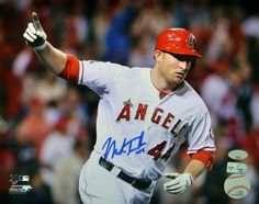 Signed Mark Trumbo Photo - 16x20 MLB Holo & JSA/SM - - JSA Certified - Autographed MLB Photos by Sports Memorabilia. $139.99. Signed Mark Trumbo Photo - 16x20 MLB Holo & JSA/SM. Items like this gain value over time, making it a good buy at a good price. Mark Trumbo doesn't like participating in official signing sessions, so it can be tough to find nice pieces like this. All pieces sold by Sportsmemorabilia come with a money-back authenticity guarantee. High quality autograph....
