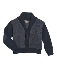 Another great find on #zulily! Heather Gray Shawl Neck Cardigan - Infant #zulilyfinds