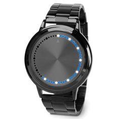 The Circular Array LED Watch - Hammacher Schlemmer
