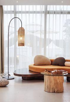Ripple Hotel Qiandao Lake by Li Xiang, magnificent contemporary hotel design    www.bocadolobo.com #bocadolobo #luxuryfurniture #exclusivedesign #interiodesign #designideas #hotelinteriors #luxuryhotel #hotelinteriordesign