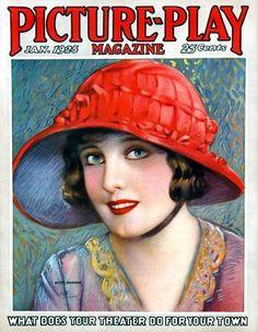 Vintage Movie Magazine   Picture-Play Magazine: January 1925