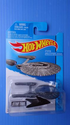 Hot Wheels 2014 Star Trek U.S.S. Vengeance  Hw City - Hot - RARE !!!!!