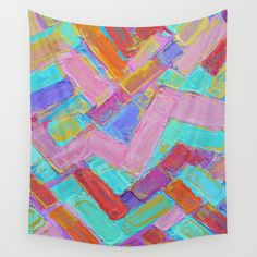 Golden Internodes Wall Tapestry By Ann Marie Coolick