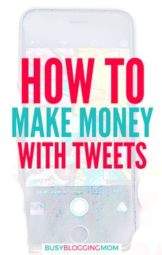 You can make money on Twitter! See how to use Tweets to earn money working with brands!