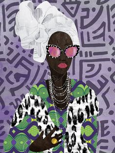 Diy Canvas Art, Canvas Artwork, Canvas Art Prints, Black And White Canvas, Blue Canvas, Black Art, Female Portrait, Female Art, Ladybug Rocks