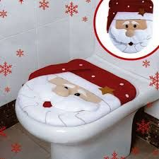 Image result for Santa Claus Toilet Seat Cover