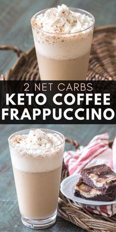 Coffee Creamer Recipe, Keto Coffee Recipe, Coffee Recipes, Low Carb Cappuccino Recipe, Low Carb Coffee Creamer, Coffee Smoothie Recipes, Low Carb Drinks, Low Carb Smoothies, Diet Drinks