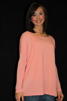 The Willow Tree - Peach Piko Top, $29.95 (http://willow-tree.mybigcommerce.com/peach-piko-top/)