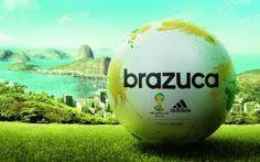 WALLPAPERS HD: Adidas Brazuca Match Ball FIFA World Cup 2014