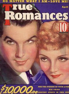 claudette colbert movie magazine covers | Claudette Colbert & Fred MacMurray | Vintage Movie Magazine Cover's ...