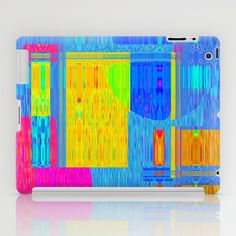 Re-Created  Building Blocks V iPad Case by Robert S. Lee - $60.00