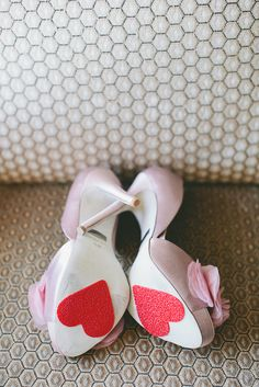 wedding shoes non slip heart pads