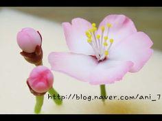클레이아트 벚꽃 만들기 Flower Clay * Cherry Blossom