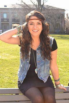 Boho Auburn Suede Braided Headband for Women by BizzyBCrafts