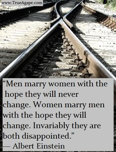 Words of wisdom marriage quotes | Change | Disappointment