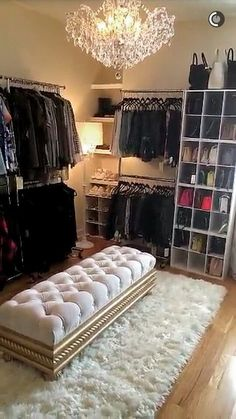 Convert a bedroom to a huge walk in closet
