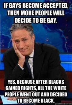 #GayQuotes #GayQuote #gay #LGBT The #DailyShow with #JonStewart