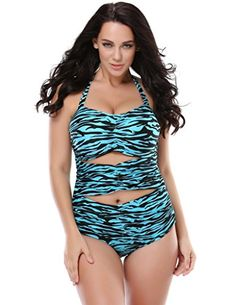f3922c72e8e Plus Size Swimwear · Introducing Kathlena Plus Size Inspired Ruched  Sweetheart Cutout One Piece SwimsuitFBA. Get Your Ladies Products