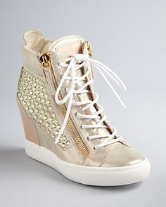 Giuseppe Zanotti Wedge Sneaker Booties - Lorenz - Sneakers - Shoes - Shoes - Bloomingdale's