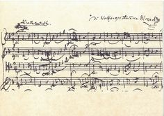 Wolfgang Amadeus Mozart Streichquartett c-Dur ,Kv465