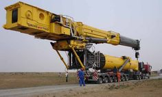 New Grove Crane designed especially for building wind turbines