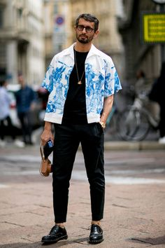 Best street style from Milan Men's Fashion Week SS17 — Day 2