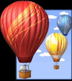 hot air balloon gifs - Google Search