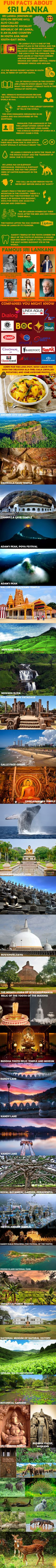 Fun Facts About Sri Lanka - 9GAG