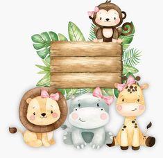 Safari Theme Birthday, Baby Boy 1st Birthday, Safari Party, Animal Birthday, 1st Birthday Parties, Safari Animals, Art Plastique, Baby Shop, Baby Boy Shower