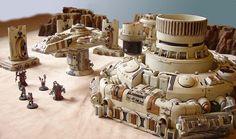 Tau scenery by Iron Hands Warhammer Terrain, 40k Terrain, Game Terrain, Wargaming Terrain, Tau Warhammer, Sci Fi Miniatures, Tau Empire, Diy Table Top, Star Wars Concept Art