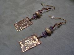 Embossed Brass Vintaj Vintage Key Style Artisan by klassyjoolz, $24.00 #bmecountdown