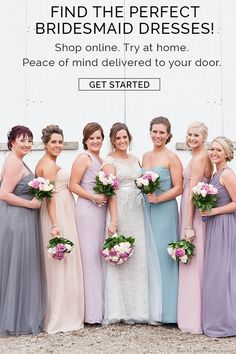 Brideside Has Over 400 Bridesmaid Dress Styles In Any