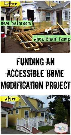 If you are having to make your home accessible for a child in a wheelchair, you're probably looking at major construction. Home modification projects are pricey... but often necessary. We'll show you how to find funding for your home modification project.