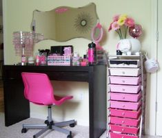 Image detail for -Make Every Day A Sparkly Day!: My Vanity & Makeup Storage