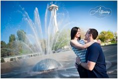 International Fountain at Seattle Center. - Seattle Wedding ...