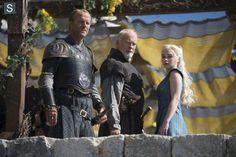 Daenery, Jorah et Barristan