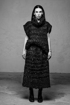Fashion Labels, Androgynous, Street Wear, Fall Winter, High Neck Dress, Dresses, Turtleneck Dress, Vestidos, Streetwear