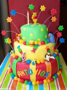 Geburtstagstorte Winnie Puuh