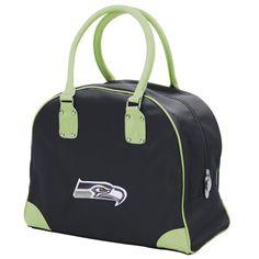 Seattle Seahawks Littlearth Women's Large Travel Overnighter Bag