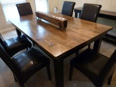 We custom build HIGH-QUALITY rustic farmhouse tables Benches starting $150