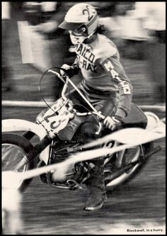 Mark Blackwell (USA)... Blackwell was a leading rider in the early days of motocross in the United States during the late 1960s and early 1970s. He was the first American to win a Motocross Championship in 1971, the American 500cc Motocross title, the predecessor of today's AMA National Motocross Championship. Blackwell had a slew of consistent finishes and beat out Brad Lackey by a single point to win the American rider portion of the Trans-AMA Series...