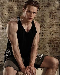 And good night sassenachs with #SamHeughan for #TheBoxMagazine . #Outlander…