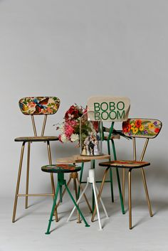 Chairs and stools #boboboom