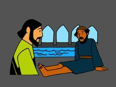 """""""Jesus Heals a Man By a Pool"""" lesson and teaching resources at www.missionbibleclass.org"""