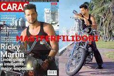 Revista Caras. Ricky Martin