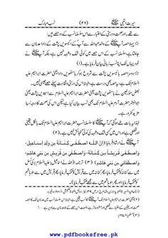 Seerat Un Nabi Urdu Pdf