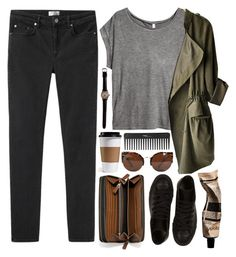 """Soil and Stone"" by vv0lf ❤ liked on Polyvore featuring Acne Studios, Coach, Converse, H&M, Sephora Collection, Aesop, women's clothing, women, female and woman"
