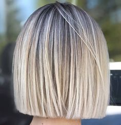 Classic Brunette Balayage - 20 Inspirational Long Choppy Bob Hairstyles - The Trending Hairstyle Short Bob Hairstyles, Cool Hairstyles, Blunt Bob Haircuts, Short Blunt Haircut, Brown Bob Haircut, Short Blunt Bob, Cute Bob Haircuts, Blonde Hairstyles, Casual Hairstyles