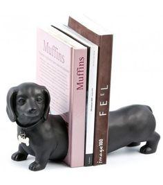 Serre-Livres Teckel #teckel #chien #livre