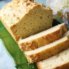 Irresistible Irish Soda Bread - this is my favorite soda bread recipe, no kneading or shaping required! It seems to be faster and easier than other soda bread recipes I've tried. The taste is wonderful - you can add raisins and caraway seeds if you like!